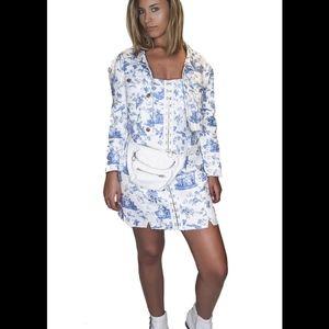 Monika Hook Front Mini Dress